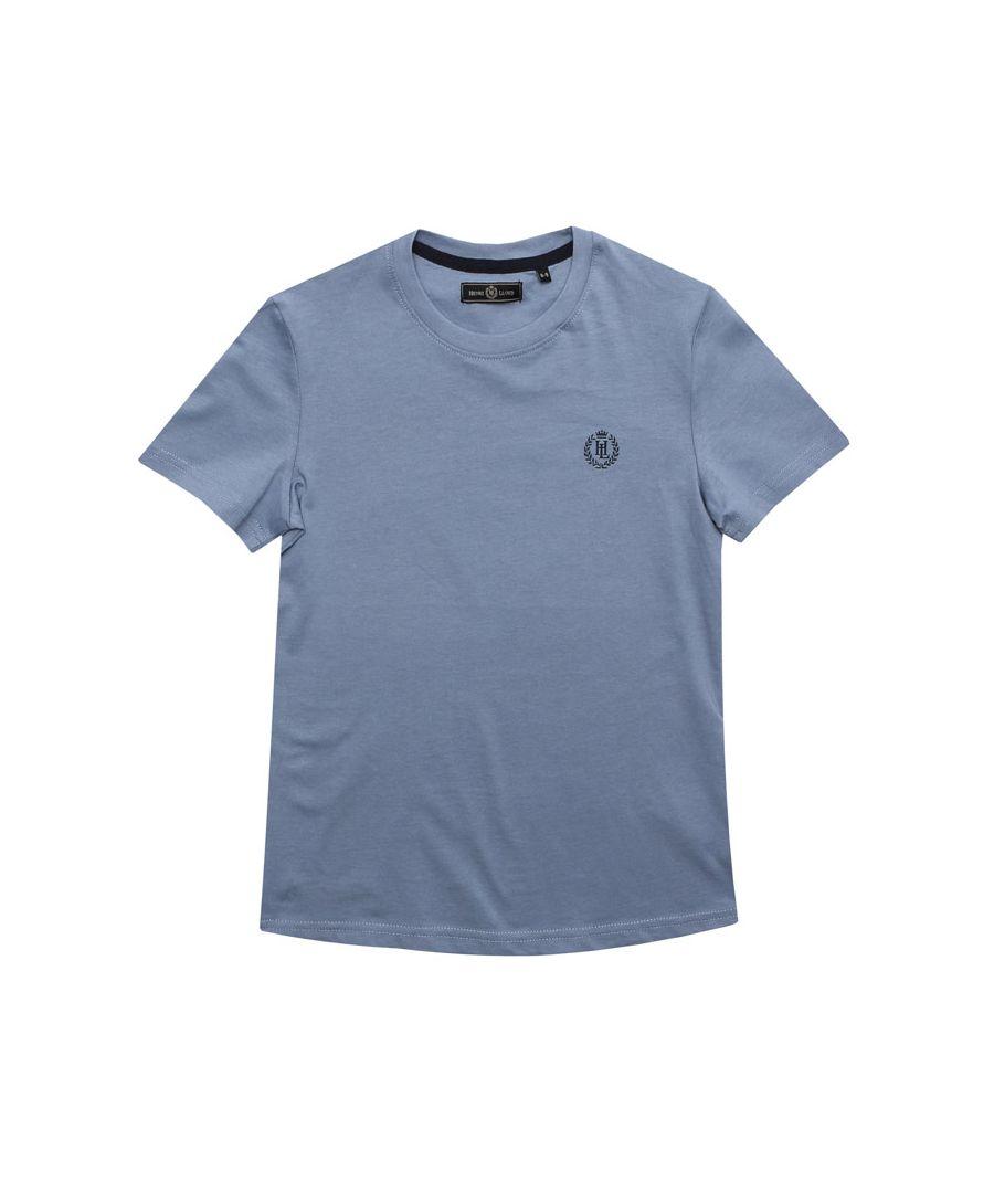 Image for Boy's Henri Lloyd Junior Radar T-Shirt in Grey