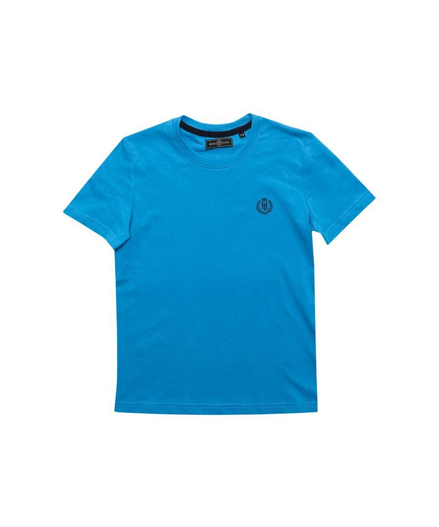 Image for Boy's Henri Lloyd Junior Radar T-Shirt in Blue