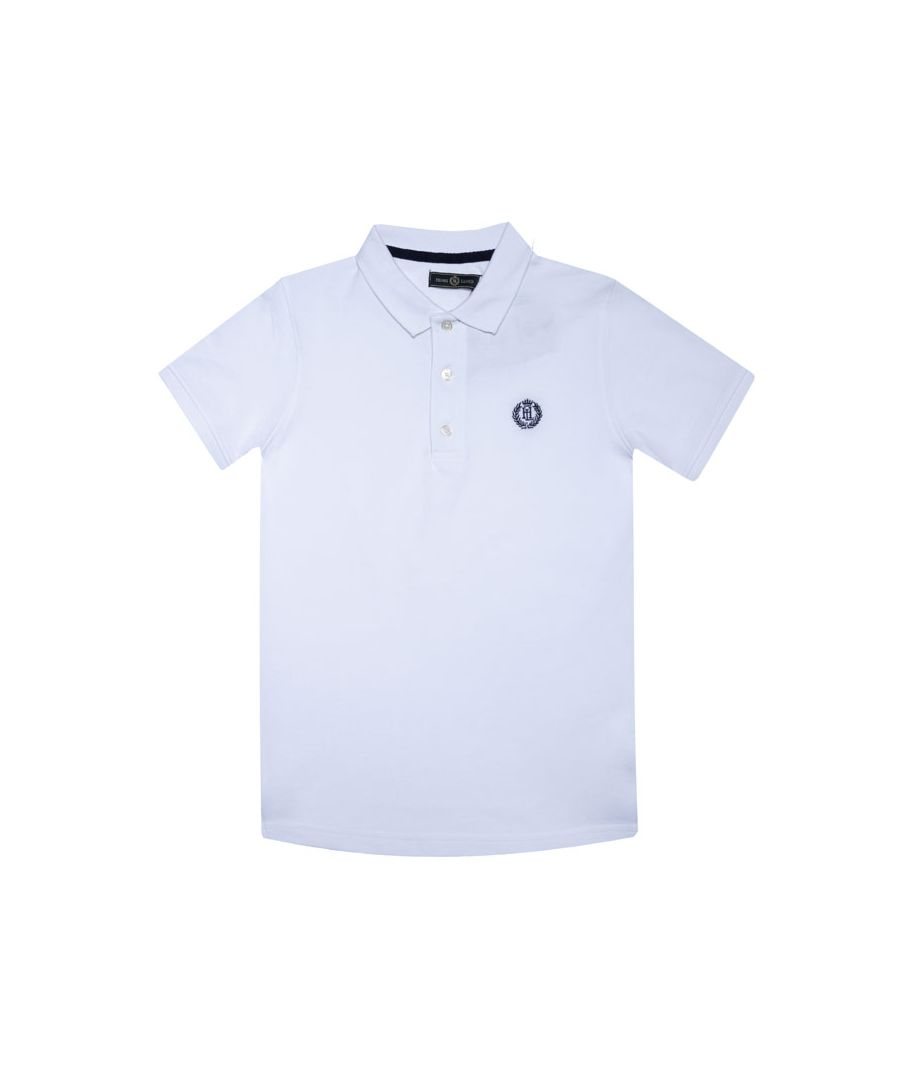 Image for Boy's Henri Lloyd Junior Cowes Polo Shirt in White