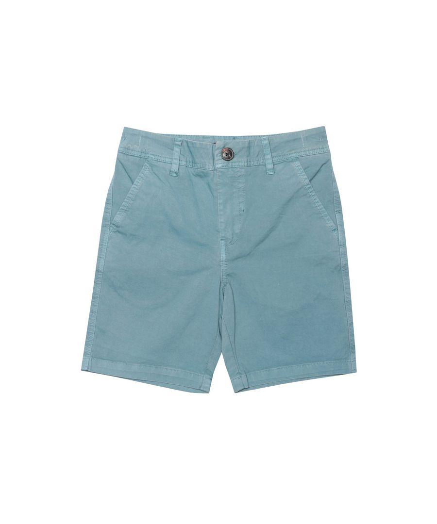 Image for Boy's Henri Lloyd Junior Chino Shorts in Blue