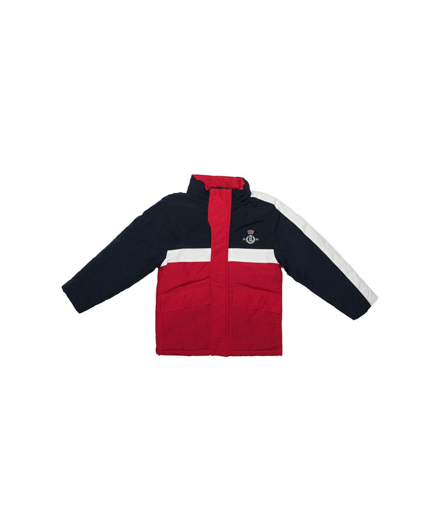 Image for Boy's Henri Lloyd Infant Nautique Jacket in Red