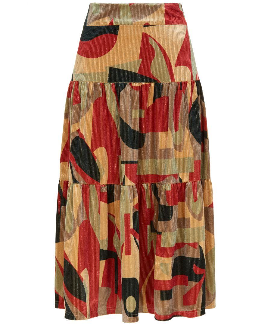 Image for Harold and Maud Printed A-Line Skirt
