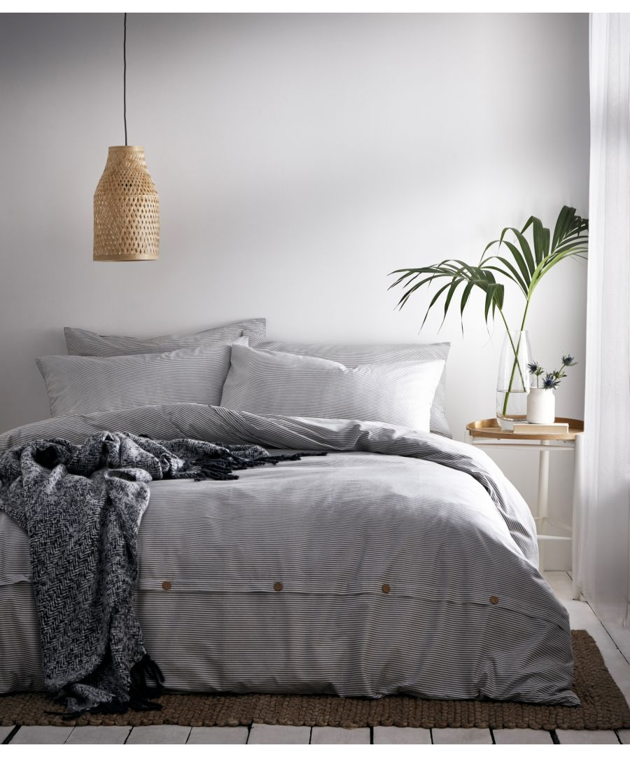 Image for Holbury Duvet Set Grey