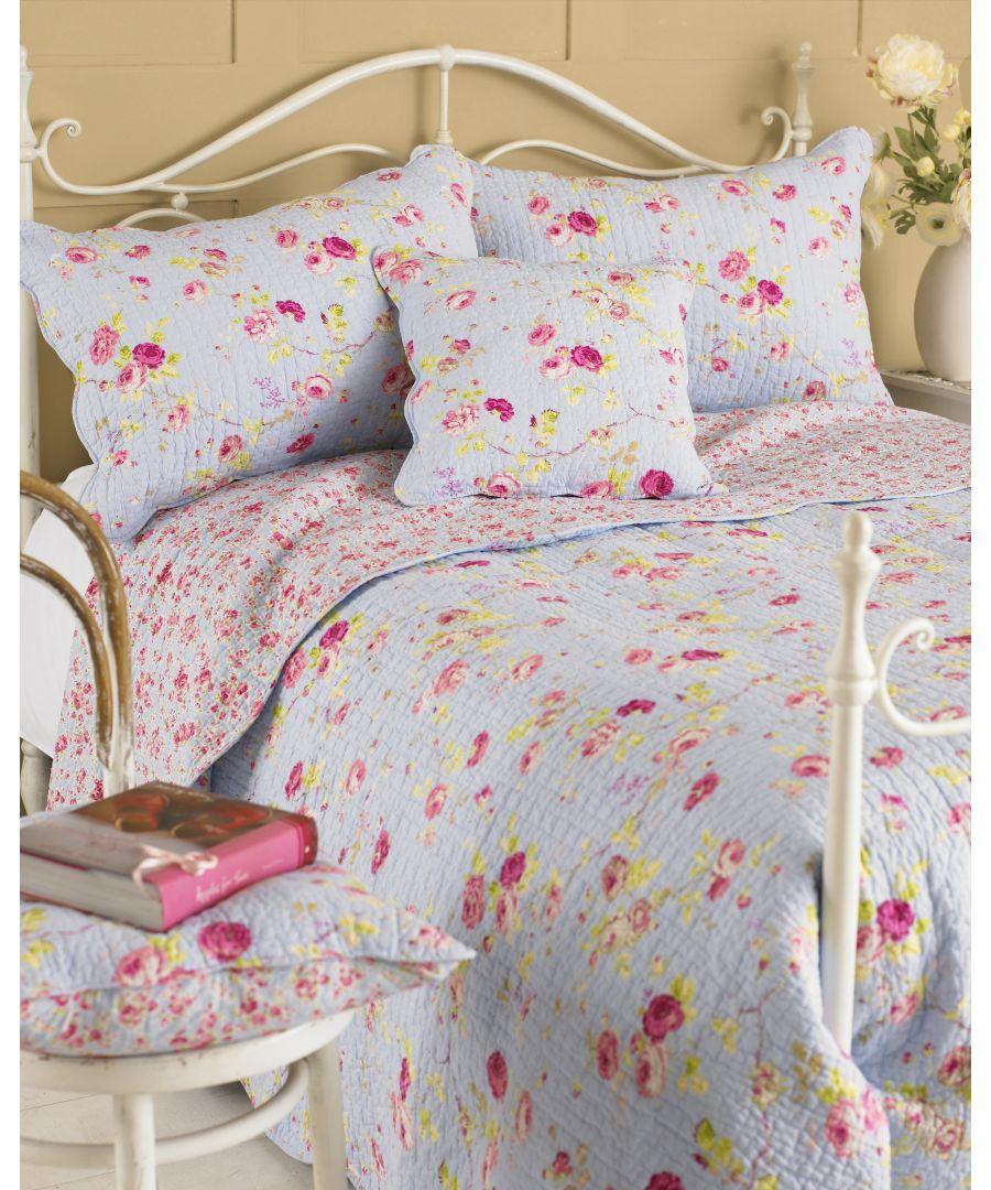 Image for Honeypotlane Pillow Sham Blue
