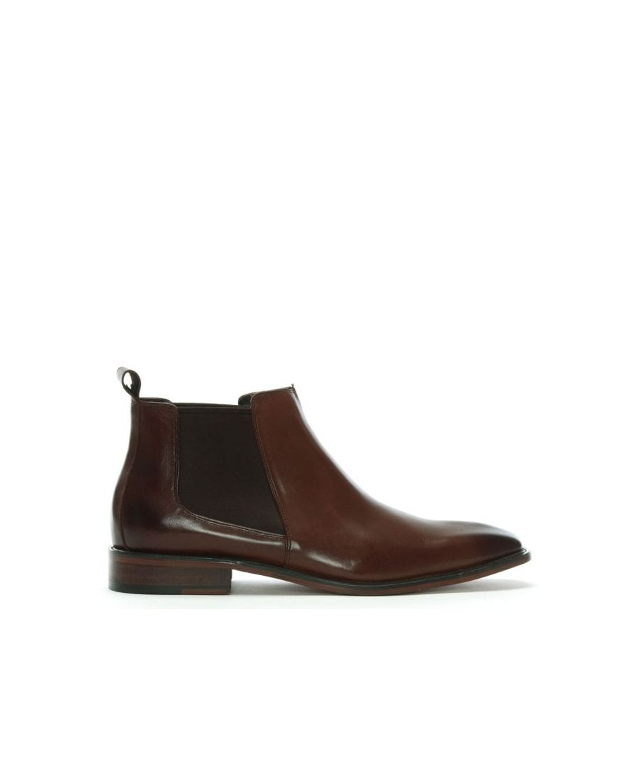 Image for Daniel Honiton Leather Chelsea Boots