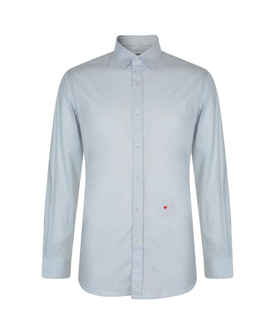 Image for Moschino HR701X1B 65301 05 Light Grey Casual Shirt