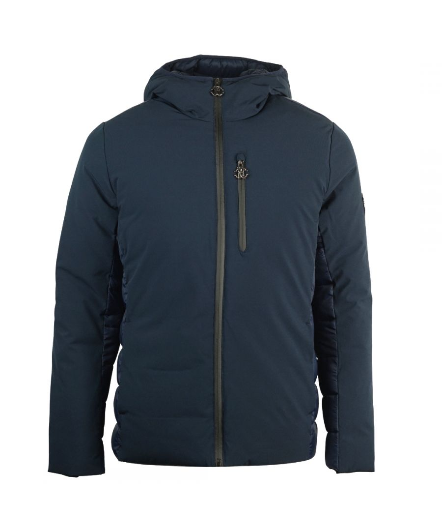 Image for Roberto Cavalli Padded Navy Winter Jacket