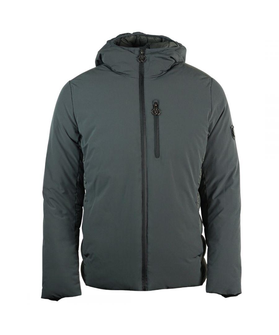 Image for Roberto Cavalli Padded Grey Winter Jacket