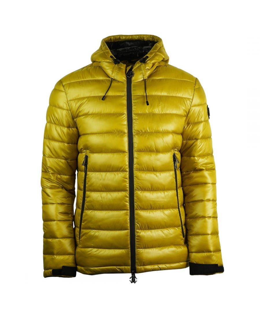 Image for Roberto Cavalli Padded Yellow Jacket