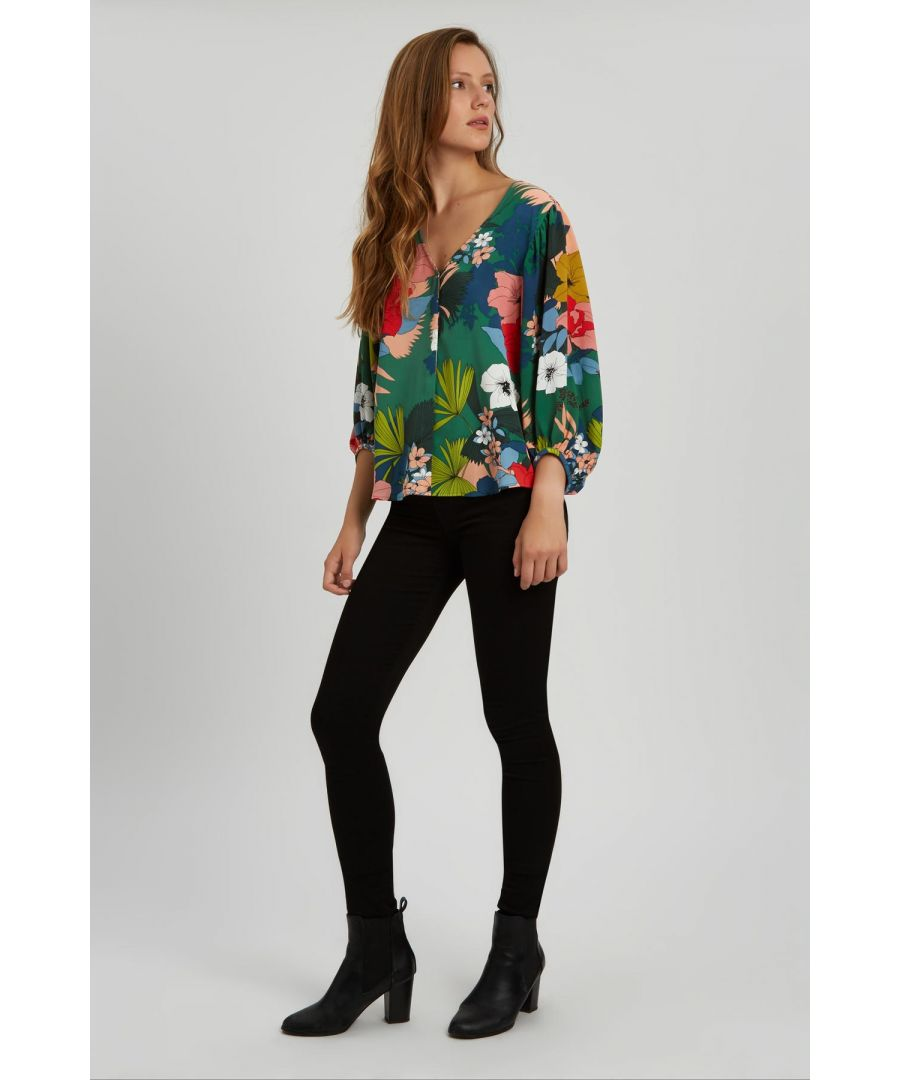 Image for Vice Floral Shirt in Multi