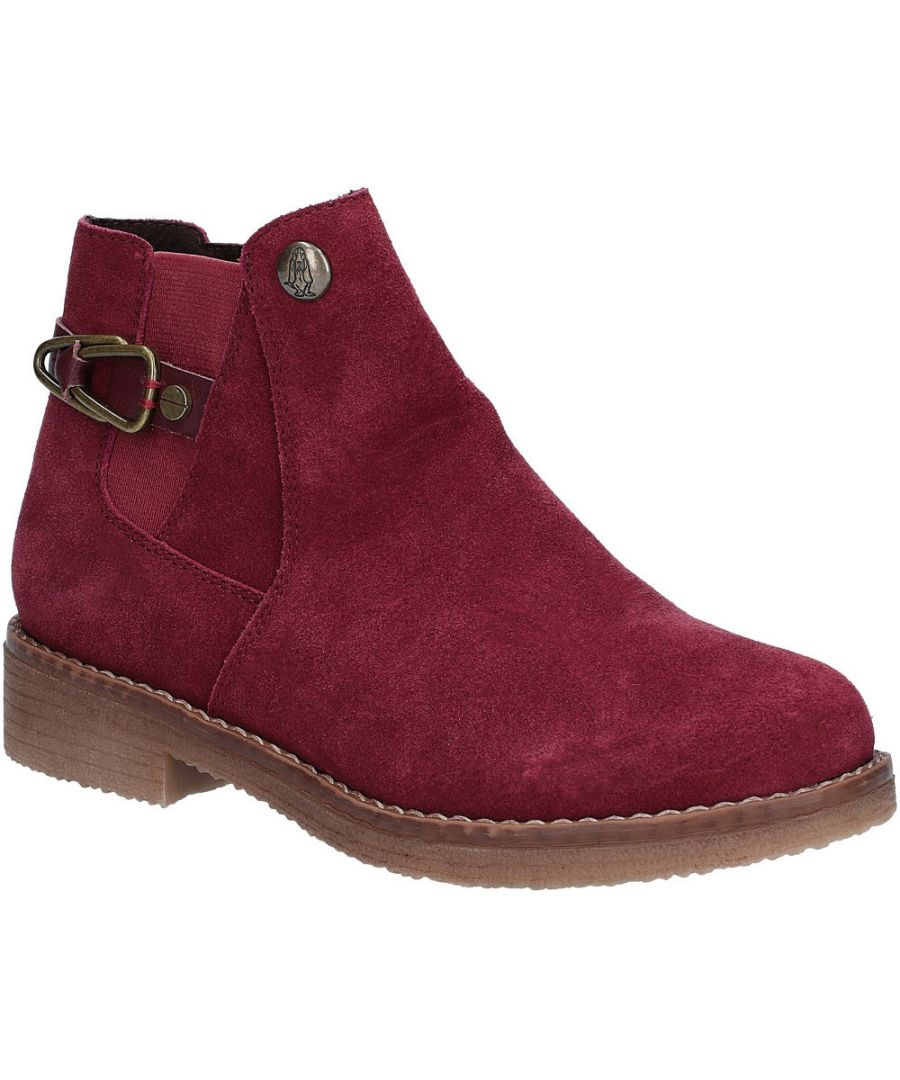 Image for Hush Puppies Womens Alaska Chelsea Durable Suede Ankle Boots