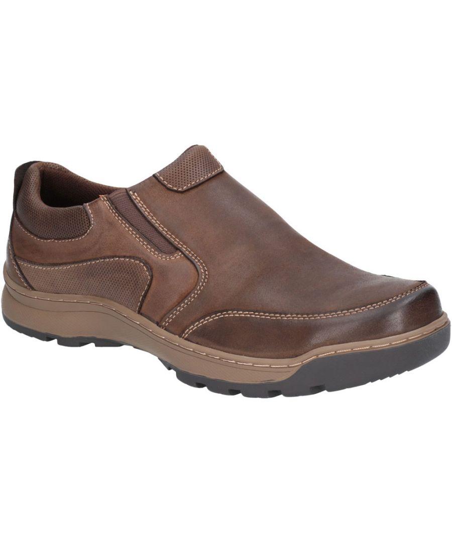 Image for Hush Puppies Mens Jasper Slip On Padded Memory Foam Trainers