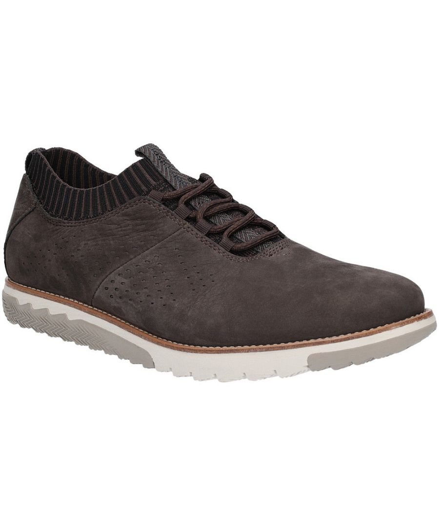 Image for Hush Puppies Mens Expert Knit Oxford Lace Up Casual Trainers