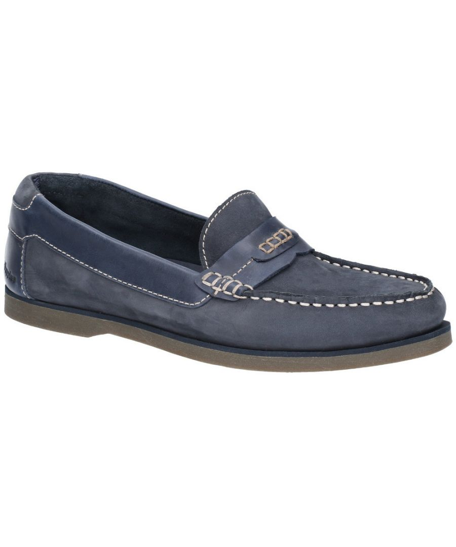 Image for Hush Puppies Mens Finn Slip On Flat Casual Loafer Deck Shoes