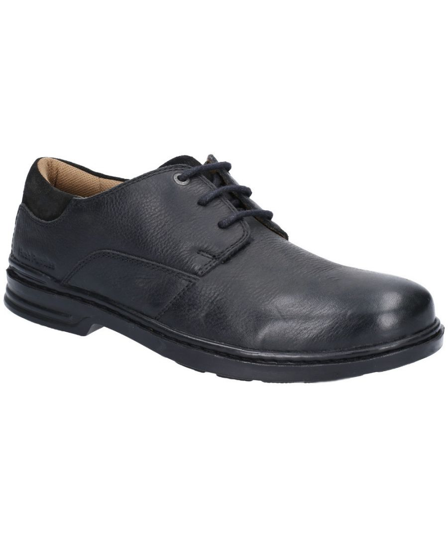 Image for Hush Puppies Mens Max Hanston Classic Lace Up Dress Shoes