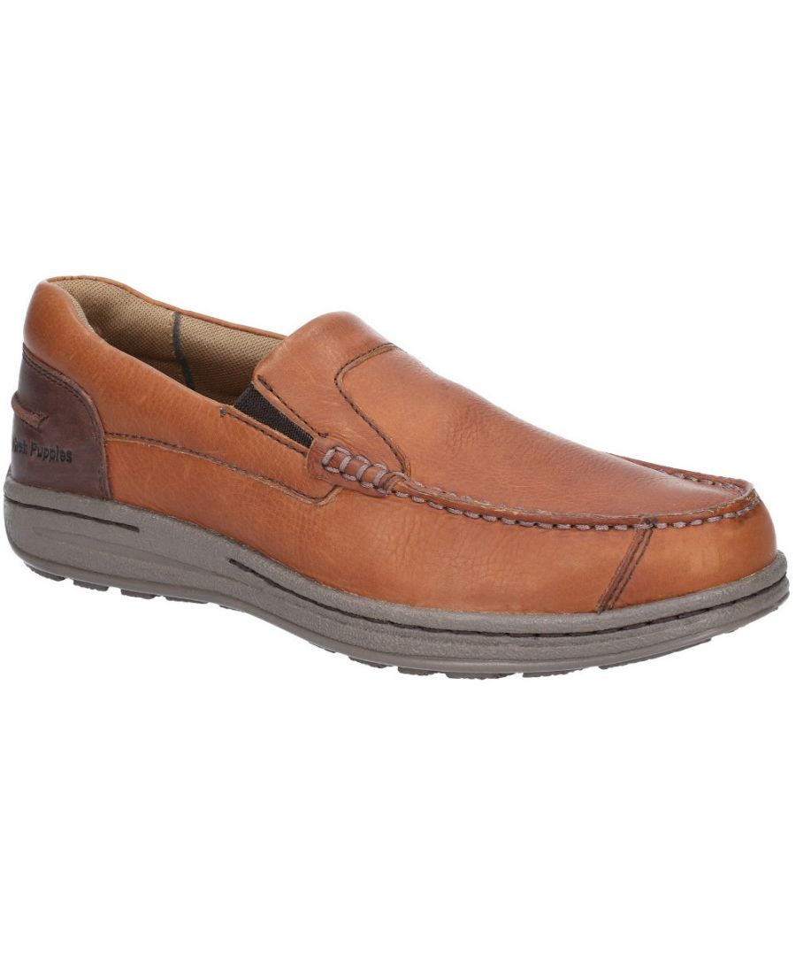 Image for Hush Puppies Mens Murphy Victory Slip On Moccasin Shoes