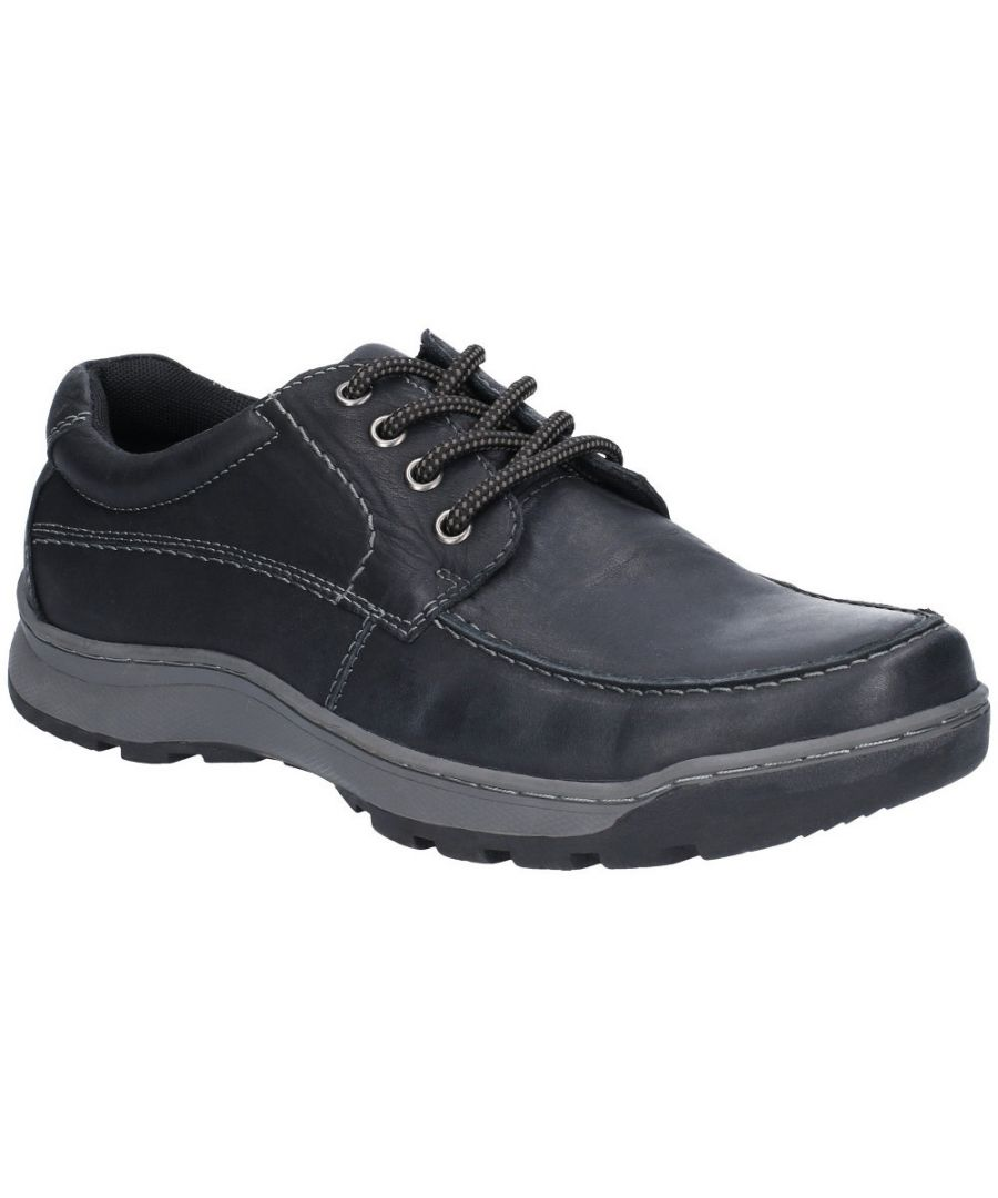 Image for Hush Puppies Mens Tucker Lace Up Leather Oxford Shoes