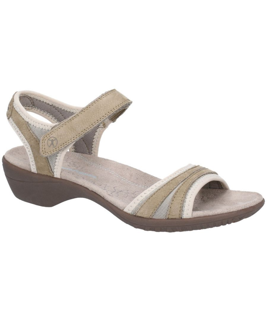 Image for Hush Puppies Womens Athos Ankle Strap Adjustable Sandals