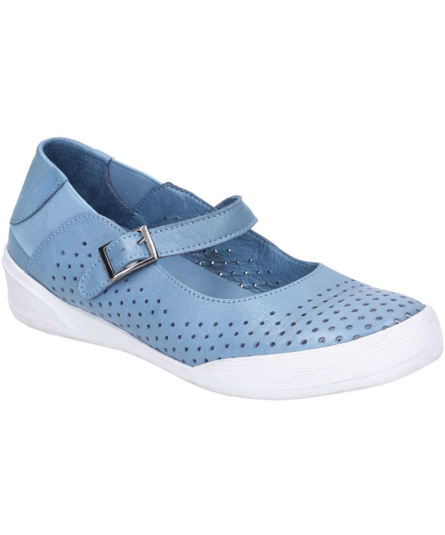 Image for Hush Puppies Womens Bailey Buckle Strap Casual Summer Shoes