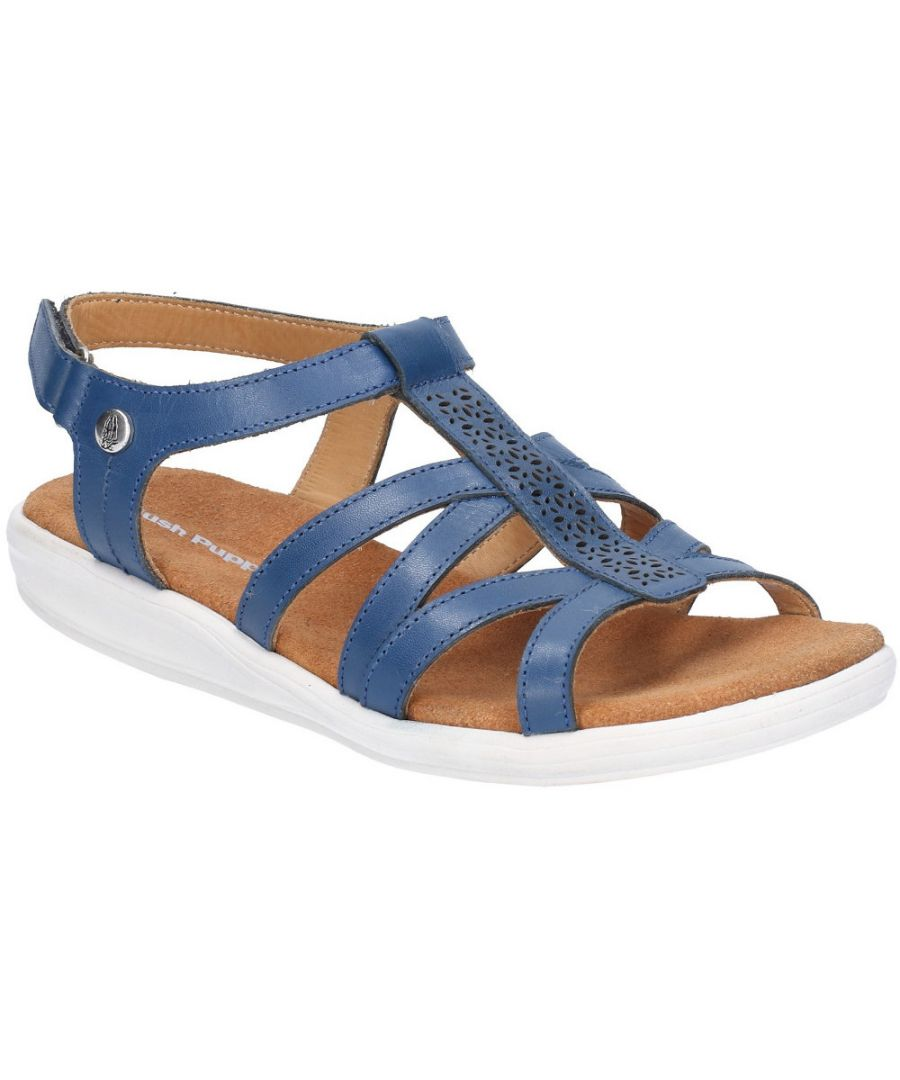 Image for Hush Puppies Womens Callie Strappy Adjustable Summer Sandals