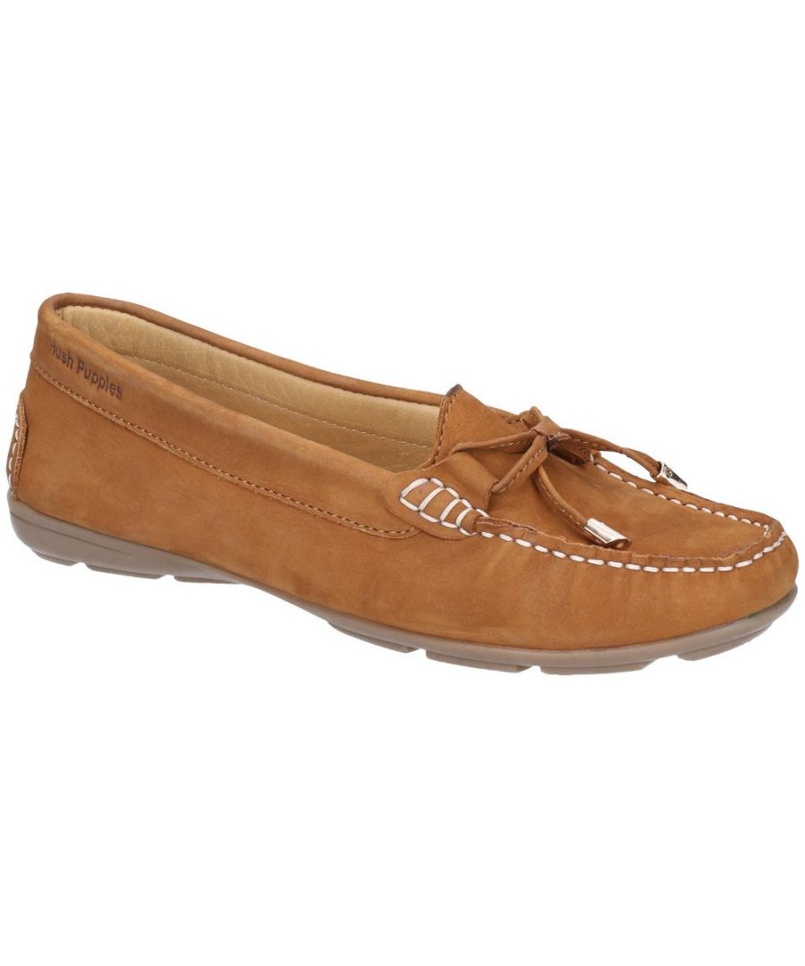 Image for Hush Puppies Womens Maggie Toggle Slip On Flat Casual Shoes