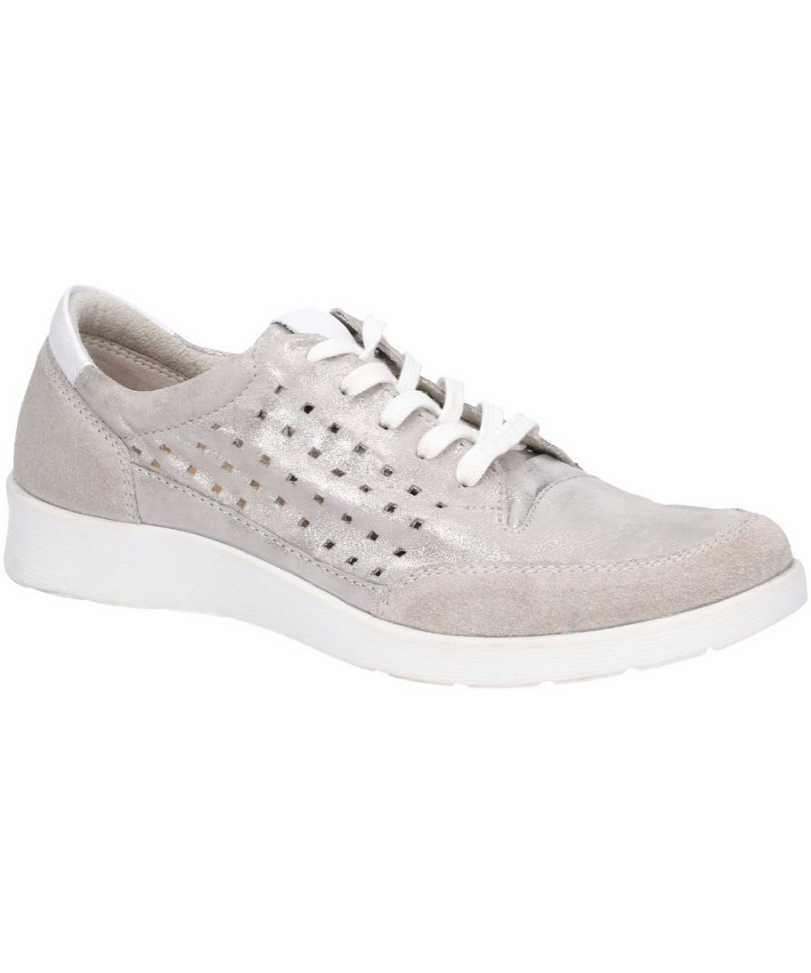 Image for Hush Puppies Womens Molly Lace Up Breathable Casual Trainers