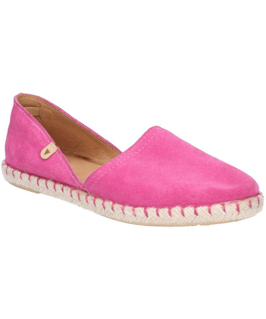 Image for Hush Puppies Womens Rosie Espadrille Slip On Casual Shoes