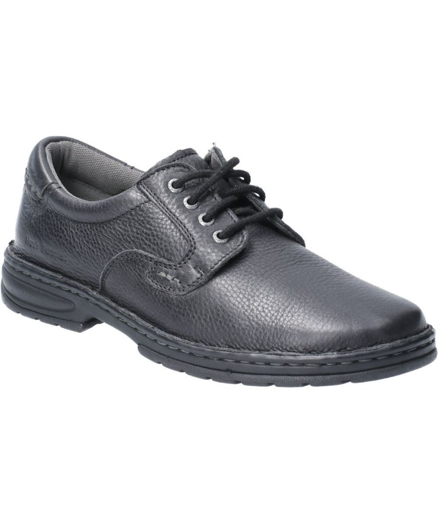 Image for Hush Puppies Mens Outlaw II Laced Leather Shoe Oxford Shoes