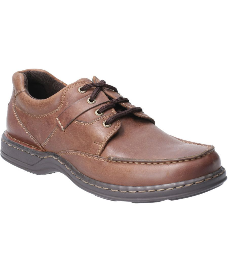 Image for Hush Puppies Mens Randall II Laced Leather Shoe Oxford Shoes
