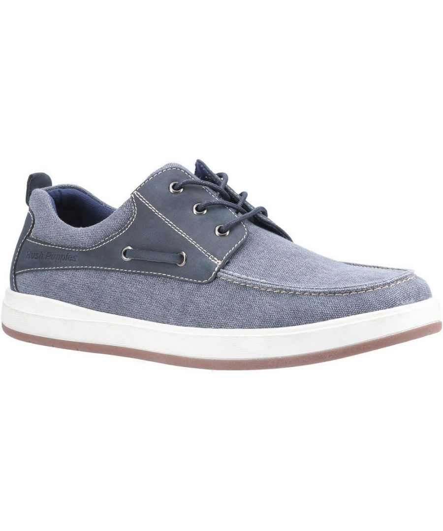 Image for Hush Puppies Mens Aiden Lightweight Breathable Boat Shoes