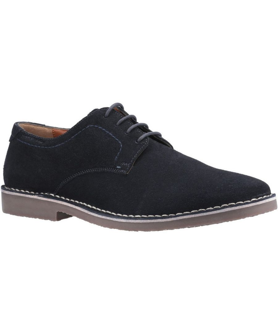 Image for Hush Puppies Mens Archie Lightweight Lace Up Oxford Shoes