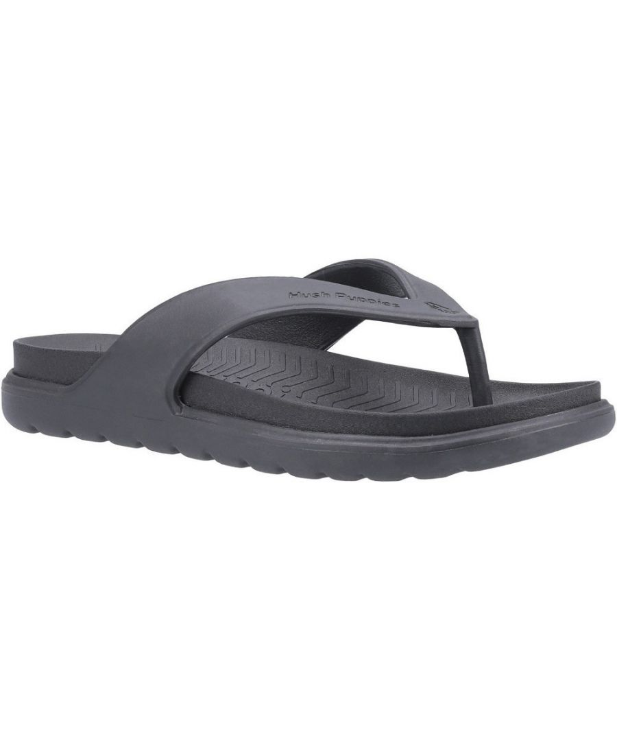 Image for Hush Puppies Mens Bouncer Lightweight Flexible Flip Flops