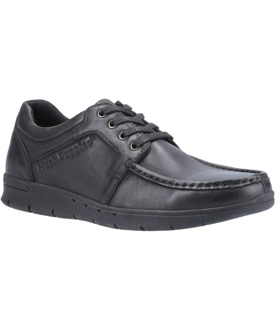 Image for Hush Puppies Mens Dudley Lightweight Lace Up Shoes