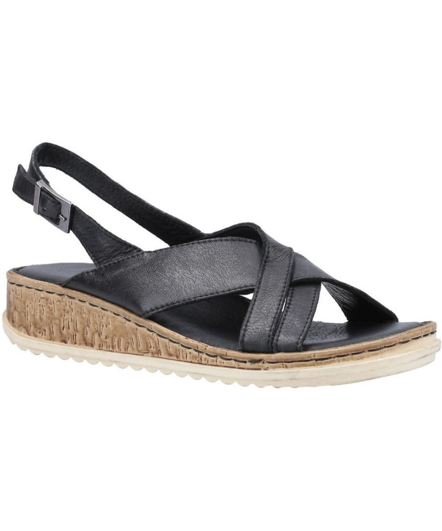 Image for Hush Puppies Womens Elena Cross Over Wedge Sandals