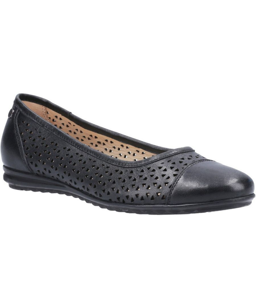 Image for Hush Puppies Womens Leah Leah Ballerina Pump Shoes