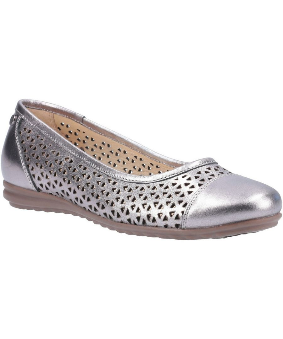 Image for Hush Puppies Womens Leah Leah Ballerina Pump Shoes