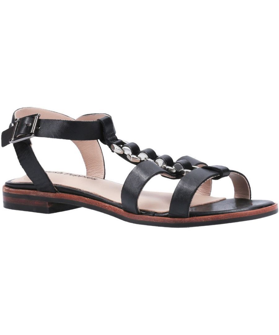 Image for Hush Puppies Womens Lucia T-Bar Buckle Summer Sandal