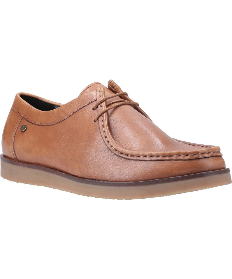 Image for Hush Puppies Mens Will Wallabee Lace Up Leather Shoes