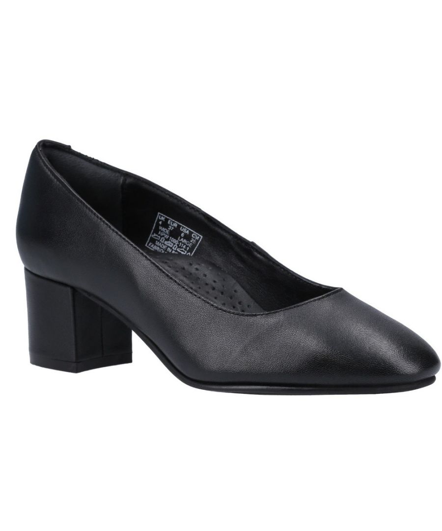 Image for Hush Puppies Womens Anna Slip On Formal Dress Court Shoes