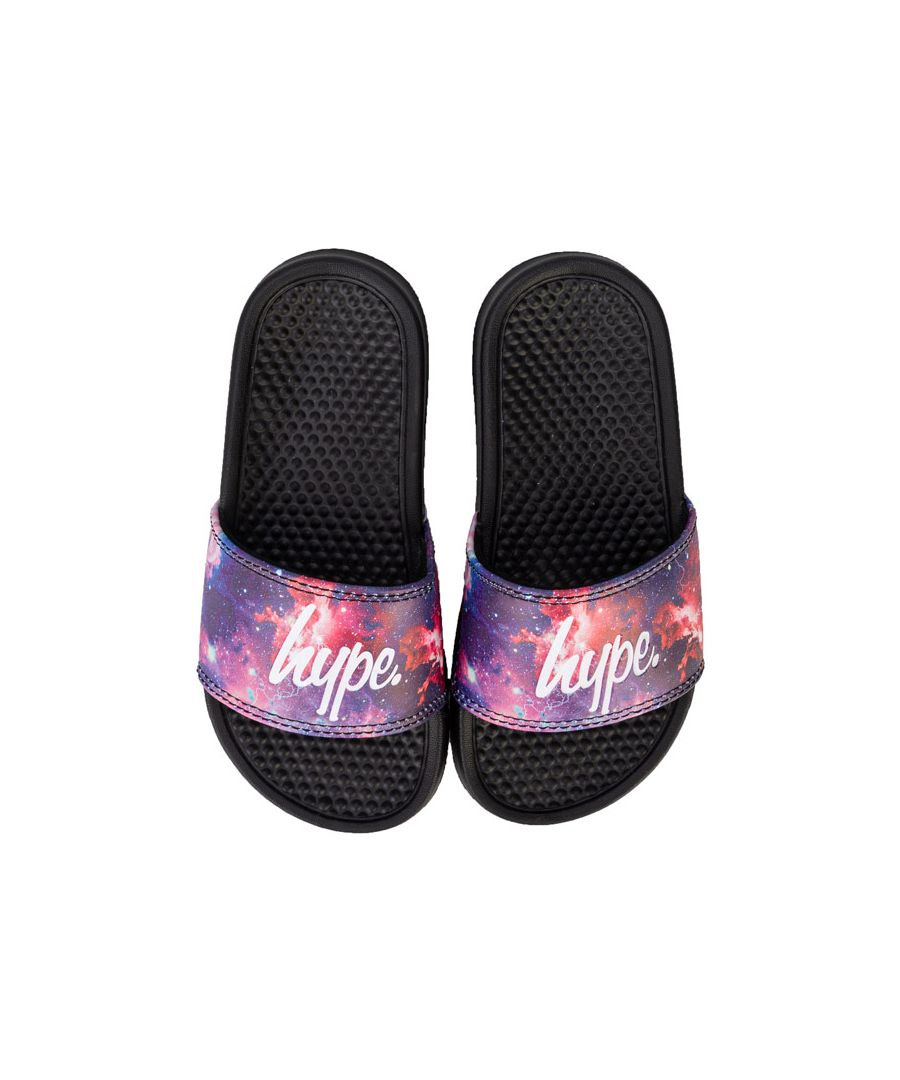 Image for Boy's Hype Infant Fired Up Sliders in Black