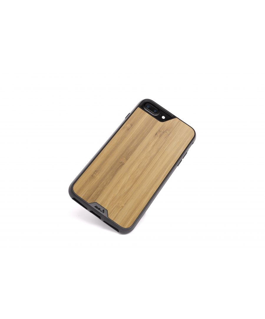 Image for Mous - Protective Case for iPhone 8+/7+/6S+/6+ Plus - Limitless 2.0 - Bamboo - Screen Protector Included