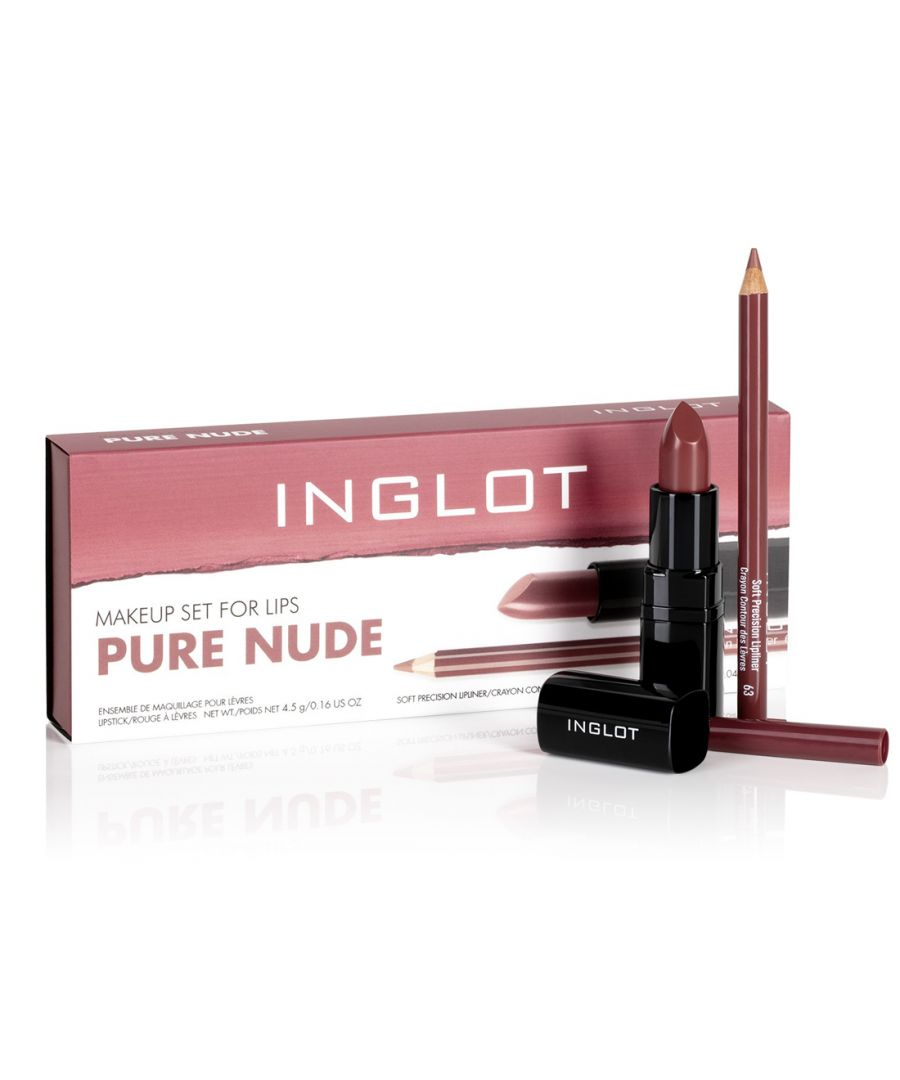 Image for Inglot Makeup Set for Lips - Pure Nude