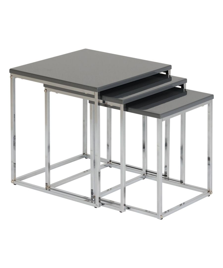 Image for Maidens Nest of Tables Grey
