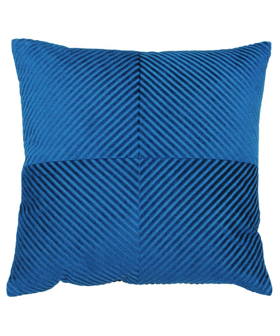 Image for Infinity 45X45 PCushion Petrol
