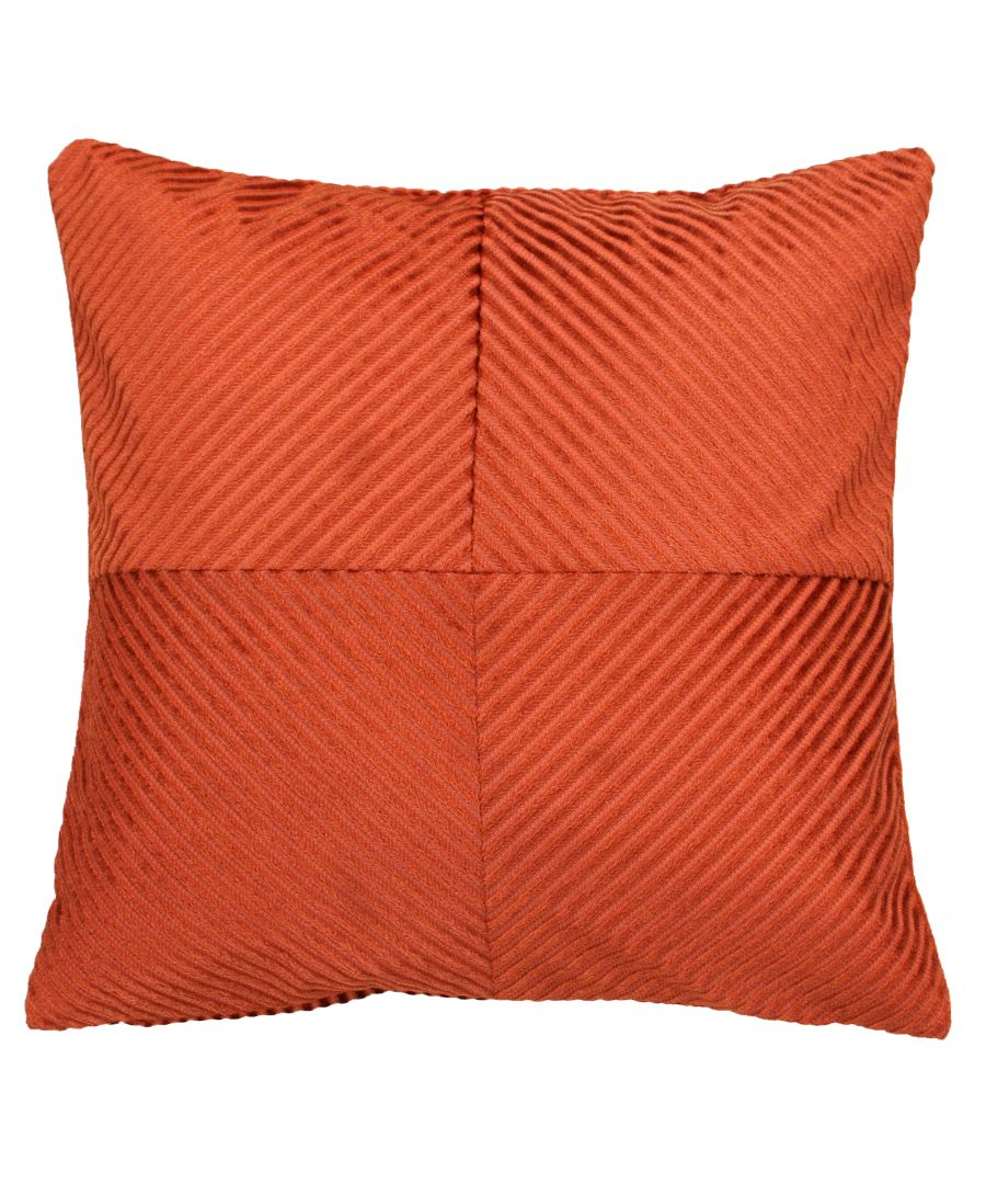 Image for Infinity 45X45 PCushion Rust