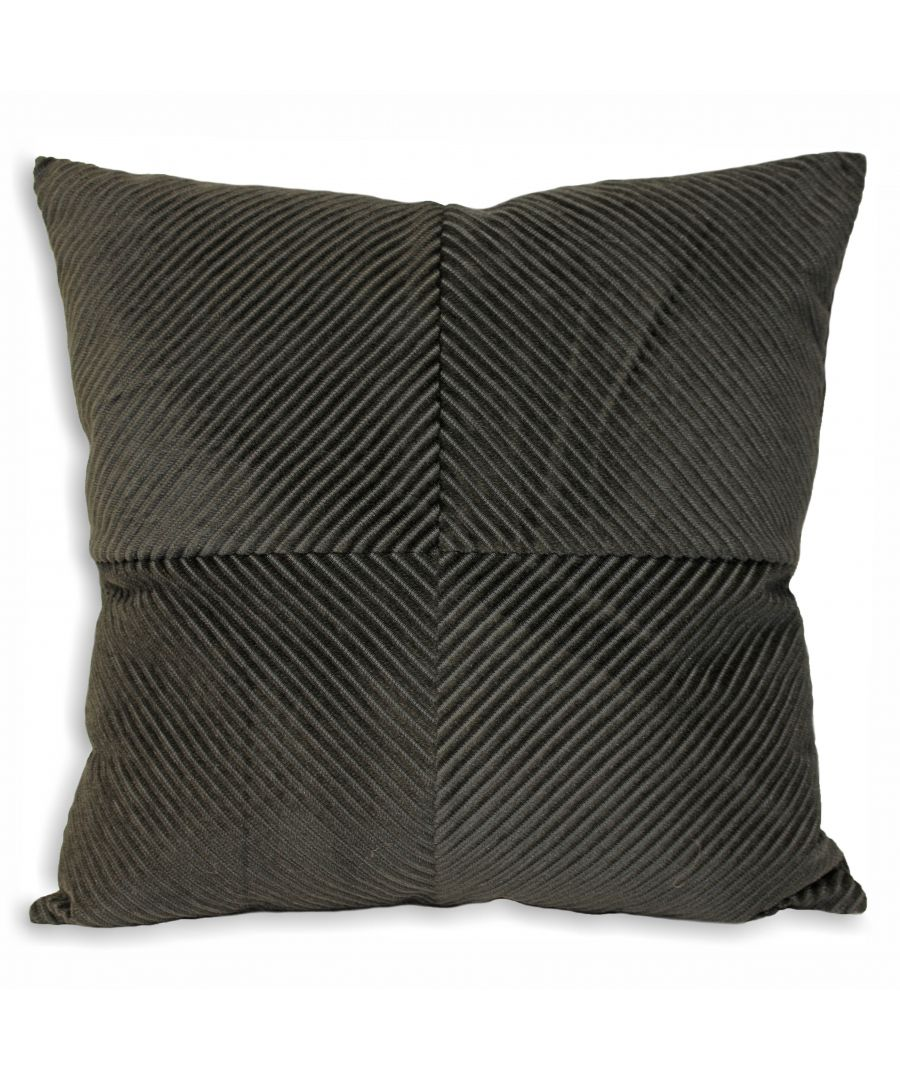 Image for Infinity 55X55 Poly Cushion Charcoa