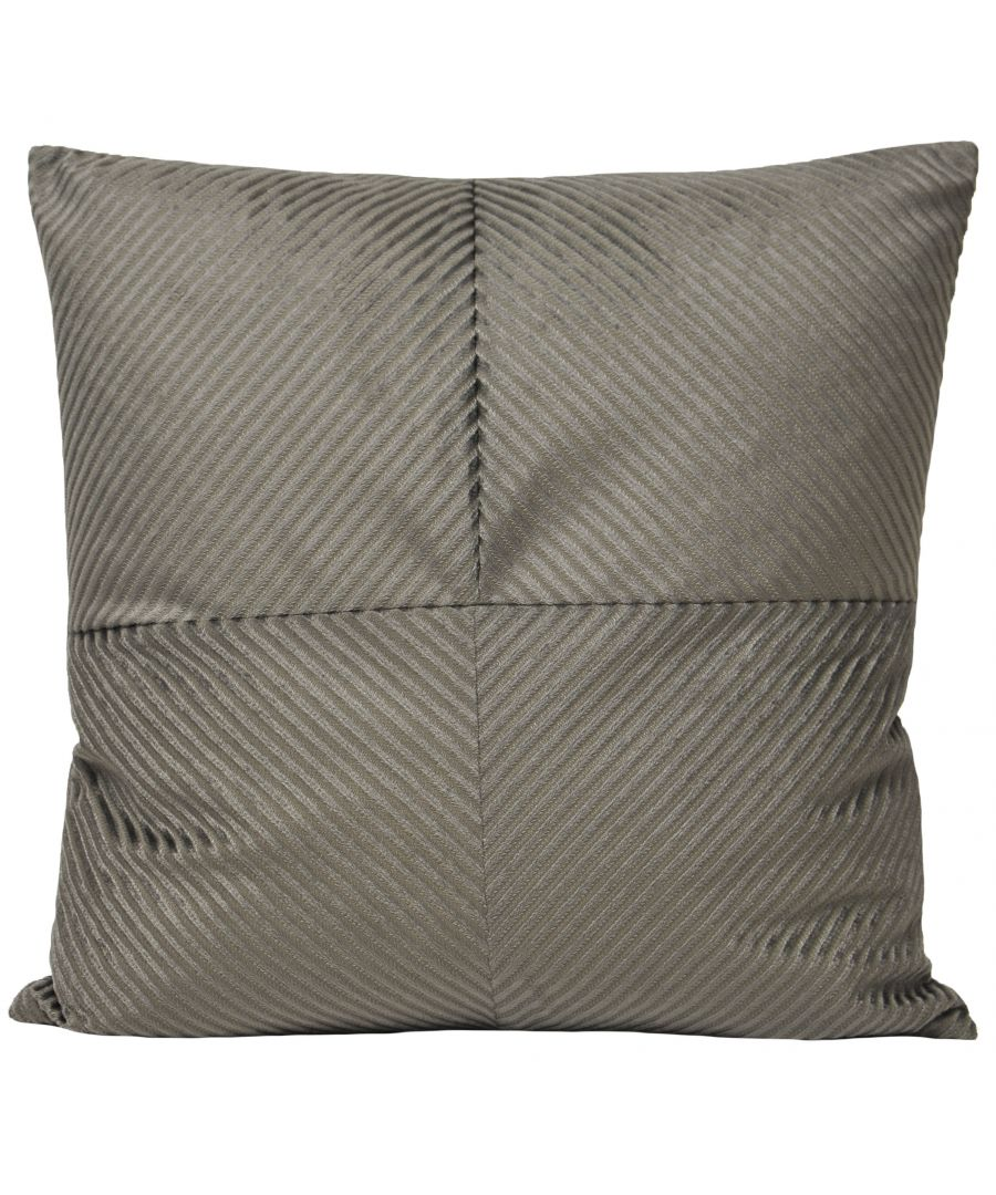 Image for Infinity 55X55 Poly Cushion Grey
