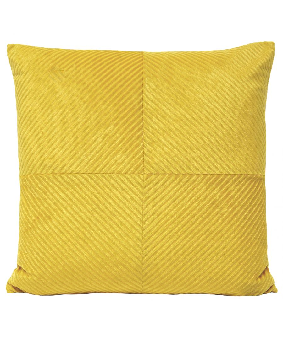 Image for Infinity 55X55 Poly Cushion Honey