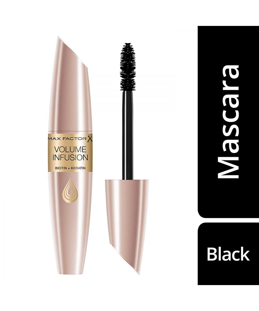 Image for Max Factor Volume Infusion Biotin + Keratin Mascara 13.1ml - Black
