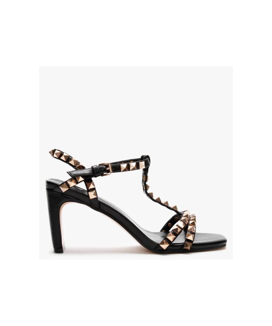 Image for DF By Daniel Inglett Studded Heeled Sandals